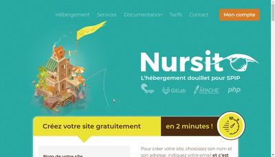 Site internet de Nursit