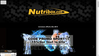 Site internet de Nutribox