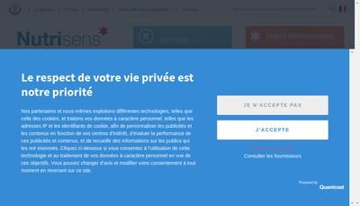 Site internet de Les Repas Sante Ceredia