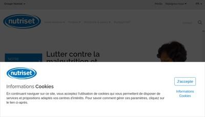 Site internet de Nutriset Plus