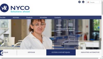 Site internet de Nyco