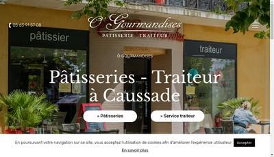 Site internet de O'Gourmandises