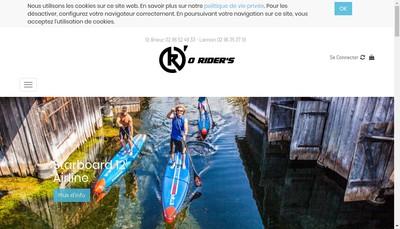 Site internet de Titine Surf Shop