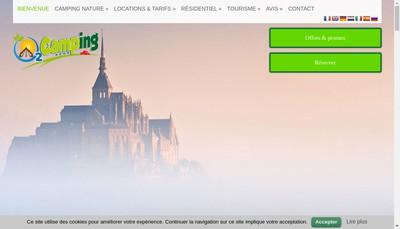 Site internet de O2 Residence