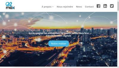 Site internet de O2Max