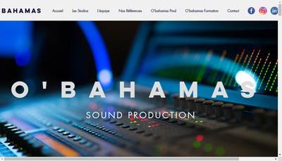 Site internet de O'Bahamas