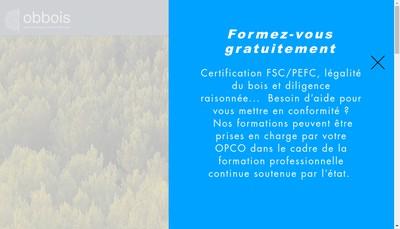Site internet de Obbois