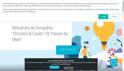 Site internet de Groupe Obea