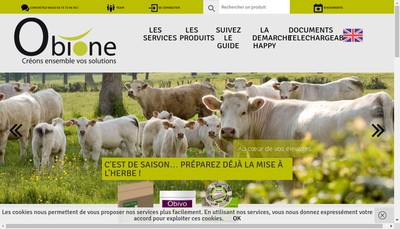 Site internet de Obione