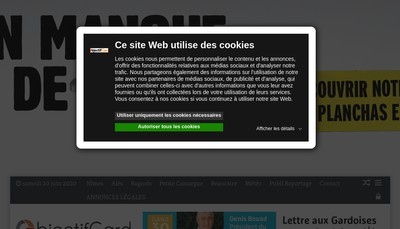 Site internet de Abaca Telemarketing - Objectif Gard