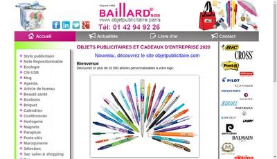Site internet de Baillard