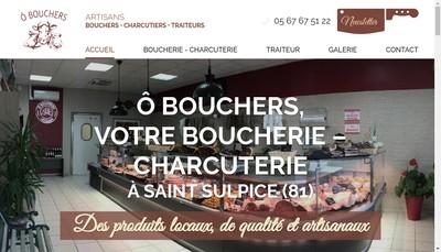 Site internet de O Bouchers