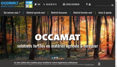 Site internet de Occamat