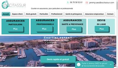 Site internet de Occitassur