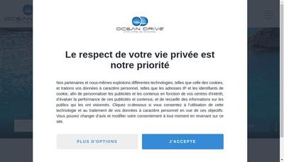 Site internet de Ocean Drive