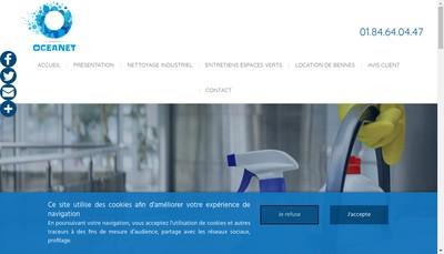 Site internet de Oceanet