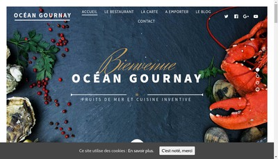 Site internet de Ocean Gournay