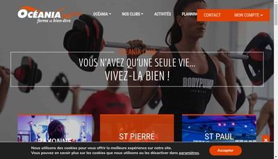 Site internet de Oceania Club
