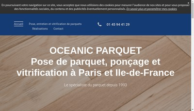 Site internet de Societe Oceanic
