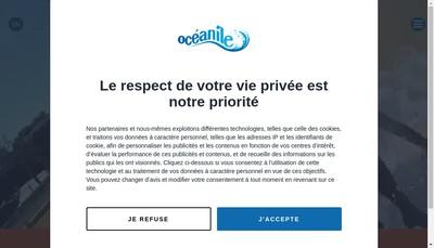 Site internet de Oceanile