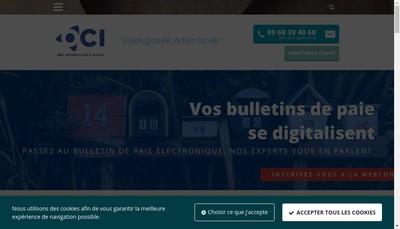 Site internet de Progiserv