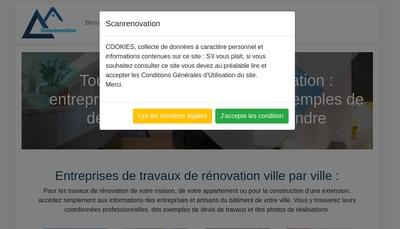 Site internet de Agence de Travaux Ocordo