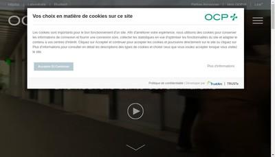Site internet de Ocp