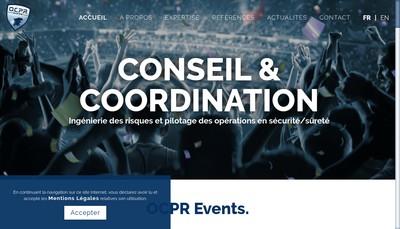 Site internet de OCPR