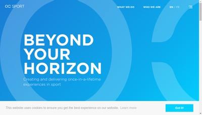 Site internet de Oc Sport Pen Duick