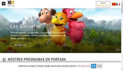 Site internet de Oc Prod