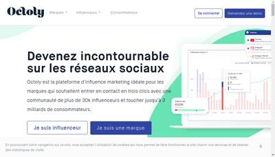 Site internet de Octoly