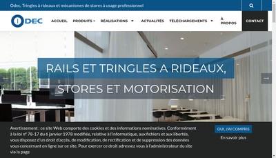 Site internet de Odec
