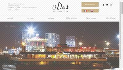 Site internet de O Deck