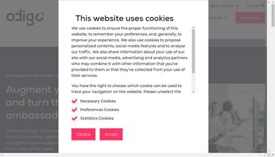 Site internet de Prosodie