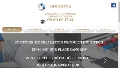 Site internet de Odphone