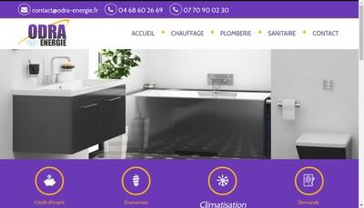 Site internet de Odra Energie