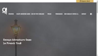 Site internet de Odyssee Prod