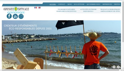 Site internet de Odyssee Verticale