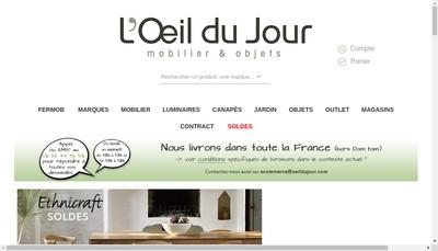 Site internet de L'Oeil du Jour