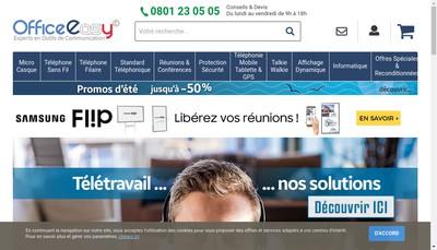 Site internet de Officeeasy