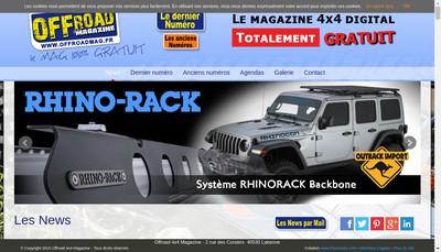 Site internet de Offroad 4X4 Magazine , www.offroadmag.fr