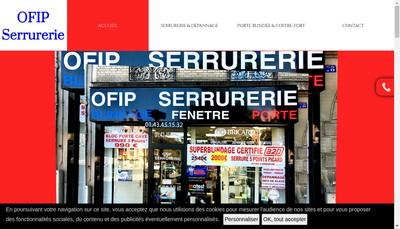 Site internet de Serrurerie Mv