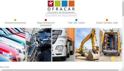 Site internet de Ofracar Finances