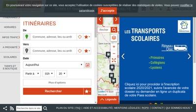 Site internet de Site Oise