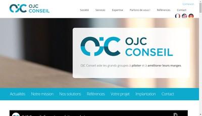Site internet de Olivier Jullian Consultant