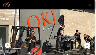Site internet de Okj Concept