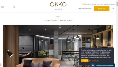 Site internet de Okko Realisations