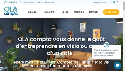 Site internet de Ola Compta