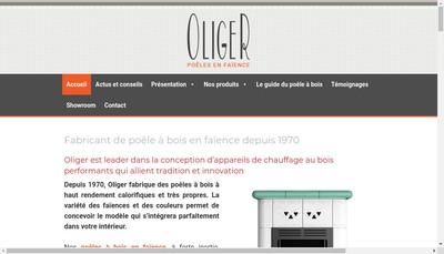 Site internet de Oliger France