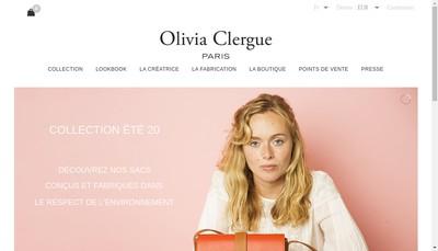Site internet de Olivia Clergue